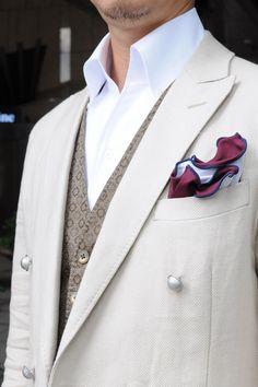 #shirtstyle #shirts #shirtshop #fashionblogger #Menswear #mensfashion #mensstyle #menswear #dapper #instafashion #gentlemenstyle #fashionformen #onepiececollar #doublebreasted #jacket #oddvest #PocketSquare  #oziejp #ワイシャツ  #コーディネート #ポケットチーフ  #メンズファッション #クールビズ
