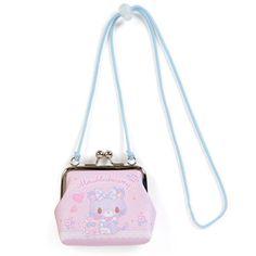 Mewkledreamy Clasp Coin Case Pouch with Rope Sanrio Japan Opal Nails, Disney Purse, Pouch, Wallet, Little Twin Stars, Cute Purses, Kawaii Fashion, Sanrio, Coins