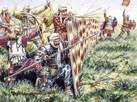 Персидская пехота, V-IV вв. до н.э. Persian  infantry V-IVcent BC