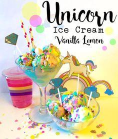 ALKEMISTEN DIY - Unicorn Ice Cream - Vanilla Lemon!