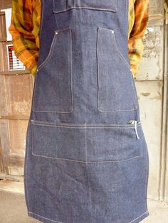 Woodworker's Apron // Work Apron // Unisex // One size fits most.