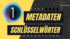 Metadaten und Schlüsselwörter in Capture One 21 #captureone21 Capture One Pro, Audio, Music Instruments, Tutorials, Videos, Musical Instruments, Wizards