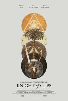 Official Knight of Cups by Terrence Malick poster
