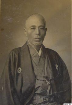 斎藤一。新撰組三番隊組長(1844~1915)維新後は警視庁の警察官となり、西南戦争に従軍した。(子孫から福島県立博物館に寄託)