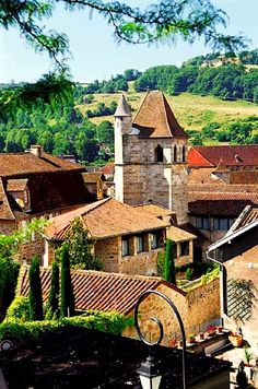 Bucolic village of Figeac - Lot, Quercy, France, living there is defenitley one of my dreams! Places Around The World, The Places Youll Go, Places To See, Around The Worlds, Wonderful Places, Beautiful Places, Ville France, Beaux Villages, Dordogne