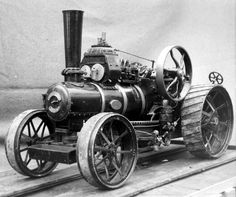 BB1 Compound Ploughing Engine