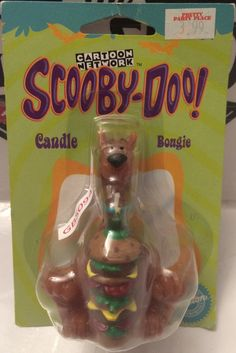 Wilton Cartoon Network Scooby-Doo! Candle Bougie This item is NOT in Mint Condition and is in no way being described as Mint or even Near Mint. Our toys have not always lead the perfect life, nor have