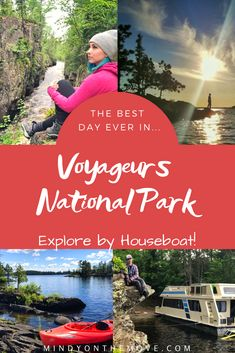 Voyageurs National Park by houseboat: one of those times when you are living so completely in the moment that every single fiber of your being feels at peace with the universe.  Everything feels RIGHT.  Perfect.  #minnesota #nationalparks #findyourpark #usatravel #travel #traveltips #travelblogger #travelbucketlist #travelblog #wanderlust #getoutside #neverstopexploring #keepitwild