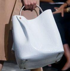 Handbag Dior in pitone bianco