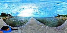 https://flic.kr/p/Rv7bhR | Windy Gorgeous Sunday At Little Harbor Ruskin Florida On Tampa Bay - IMRAN™ (360° Spherical Panorama) | This was a truly wicked windy weekend of weather here at Apollo Beach and in the Tampa Bay area in general. I captured this 360° full spherical panorama with my Nikon KeyMission 360 camera just holding it above my hand which does not make for a perfectly level photo. But the scene was worth sharing.   © 2017 IMRAN™