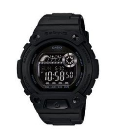 Casio Baby-g Digital Military Series Watch Black Blx100-1fdr Matte Black Limited Edition Casio. $195.00. Date. Black Rubber Strap. Water Resistance : 20 ATM / 200 meters / 660 feet