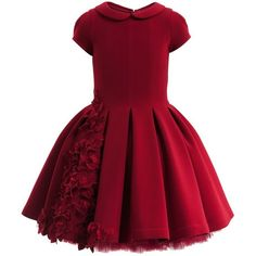 Red round neck cap sleeves short prom dress ,girls dress by prom dresses Little Dresses, Little Girl Dresses, Flower Dresses, Girls Dresses, Prom Dresses, Dress Prom, Long Dresses, Fall Dresses, Dress Long