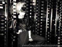 Little Mo Headpiece by Mes Petits Chapeaux Photography - Maria McGrail   Model - Yomiko Chen  MUA - Sarah Cullen