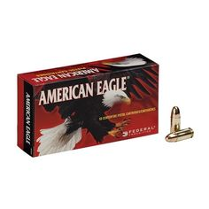 Only a few cases of this #FederalAE left of #9mmLuger ammo by Federal, get your well it lasts!
