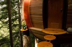 Tür Schritte in der Luft experimentelle Leben In die Wälder von Canda The HemLoft von Joel Allen Alternative von modernen Villen (1)