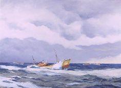 Hull deep sea Trawler