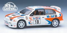 Toyota Mobil Rally. (Guisval) Die-cast.