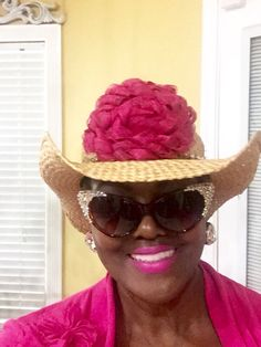 Very cool!!!!!! Pink hat