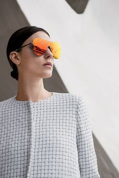 Stylishly shield your eyes from the sun with #Chanel #SaksStyle