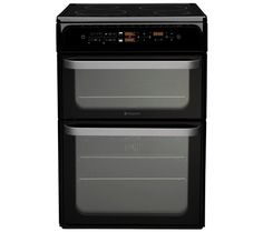 HOTPOINT HUI62TK Electric Induction Cooker - Black