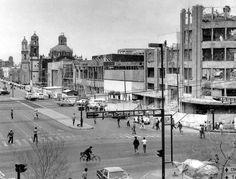 La demolición del Edificio Mariscala, en Hidalgo y el Eje Central, tras los sismos de 1985 Cd Méx en el Tiempo (@cdmexeneltiempo) | Twitter