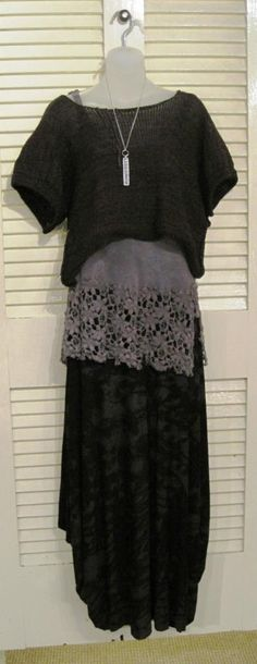 ... Skif sweater, Robin Kaplan tank, Heyne Bogut skirt at Glass Boat in Richmond, VA