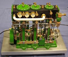 Image result for triple expansion steam engine images