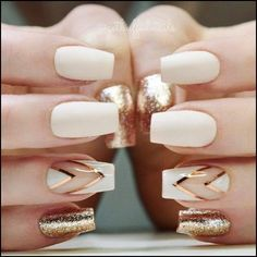 If you don't like fancy nails, classy nude nails are a good choice because they are suitable for girls of all styles. And nude nails have been popular in recent years. If you also like Classy Nude Nail Art Designs, look at today's post, we have col Elegant Nails, Classy Nails, Trendy Nails, Classy Nail Designs, Nail Art Designs, Nails Design, Nail Art Ideas, Chevron Nail Designs, White Nail Designs