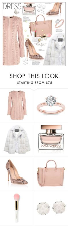 """dress"" by stranjakivana ❤ liked on Polyvore featuring Balmain, Lilly e Violetta, Dolce&Gabbana, Gianvito Rossi, Chanel and Guerlain"