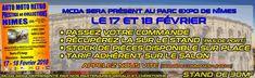 mcda sera présent au salon de Nimes les 17 et 18 Février. Appelez-nous pour toute commande : 04 94 28 53 53 #2cv #citroen #mehari