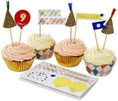 Cupcake Kit  Happy Birthday