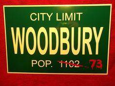 The Walking Dead Woodbury Aluminum Sign Zombie Apocalypse | eBay. OMG!!!!! Every Walking Dead fan needs one of these!!!!! LOVE IT!!!!