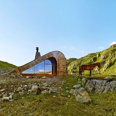 A handcrafted #cabin by Snøhetta, with an exterior in Cor-ten #steel and #reclaimedwood, battles the harsh conditions of remote #Norway. Check out the interior this afternoon! #rustic #novemberissue #scandinaviandesign... - Interior Design Ideas, Interior Decor and Designs, Home Design Inspiration, Room Design Ideas, Interior Decorating, Furniture And Accessories