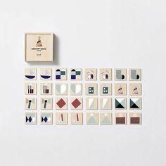 NEW * Wooden Memory Game - Hanna Konola