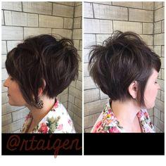 "50 Likes, 2 Comments - Rachel taigen (@rtaigen) on Instagram: ""❤️❤️#hairdomesa #nothingbutpixies #pixiecut #pixiecut #bbstylingcreme #modernsalon #behindthechair…"""