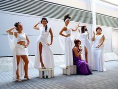 The muses and Megara by Cli88mir on DeviantArt - Romics 2011
