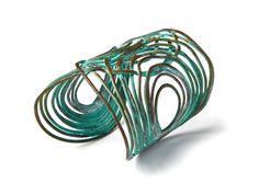 "Sibilia Turquoise ""Rita"" Cuff from Veronica Webb on OpenSky"