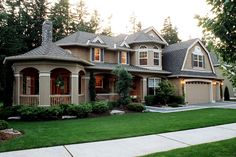 House Plan 341-00018 - Northwest Plan: 4,030 Square Feet, 4 Bedrooms, 3.5 Bathrooms