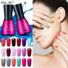 Beau Gel 3Pcs 7ML Gel Nail 241 Colors UV Gel Nail Polish Soak Off Vernish Semi Permanent LED Nail Polish Lacquer Gelpolish