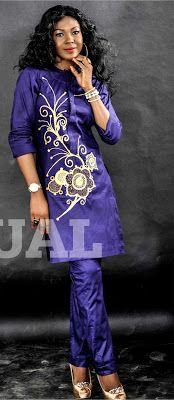 Celebrities model Yomi Casuals design collection ~African fashion, Ankara, kitenge, African women dresses, African prints, African men's fashion, Nigerian style, Ghanaian fashion ~DKK