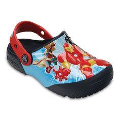 Crocs Marvel Avengers Kids Clogs, Boy's, Size: 10 T, Blue (Navy)