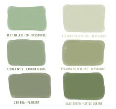 Olive green Vert olive Olive green The Good Details Bedroom Wallpaper Nature, Navy Wallpaper, Olive Green Bedrooms, Bedroom Green, Garden Bedroom, Wall Paint Colors, Paint Colors For Home, Kitchen Colour Schemes, Kitchen Colors