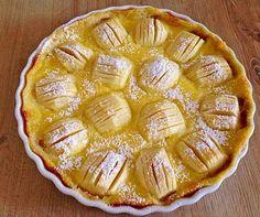Pudding-Apfelkuchen