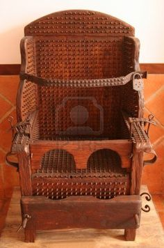 torture chair - Google Search