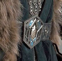 Thorin buckle photo from The Hobbit