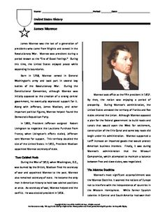 The Abolition of Slavery Reading Comprehension Worksheet