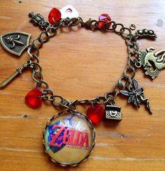 Legend of zelda ocarina of time bracelet by dalyjewels on Etsy, $9.99
