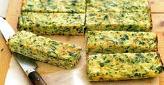 These Homemade Zucchini And Carrot Bars are a great finger food for babies starting solids, kids, and adults too! Perfect for breakfast or a healthy snack. Vegetable Snacks, Healthy Vegetables, Sin Gluten, Gluten Free, Carrot Bars, Healthy Indian Snacks, Fennel Soup, Parmesan Chips, Breakfast Quiche