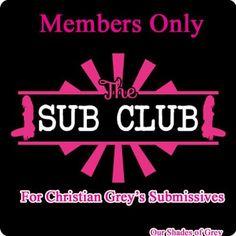 Christian Grey Sub Club lol #FiftyShades @50ShadesSource www.facebook.com/FiftyShadesSource