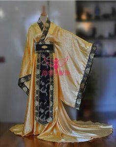 Jacquard-de-color-amarillo-del-traje-de-boda-de-la-manga-ancha-hombre-chino-Hanfu-juego.jpg (454×577)